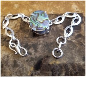 Jewelry - Colorful Abalone Bracelet 8""